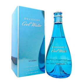 Davidoff Cool Water Mujer 6,7oz (200.ml) Sellada Original