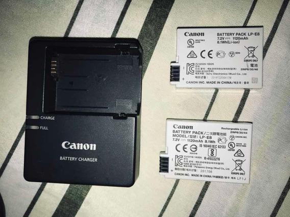Máquina Fotográfica Cânon T5i S/ Lente. Acompanha 2 Baterias