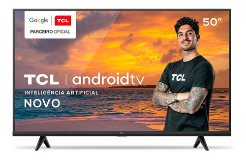 Tv Smart 4k Tela De 50 P615 Uhd Android Hdr Tcl