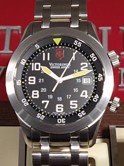 Relógio Victorinox Airboss Mach V.25041 Quartzo Novo