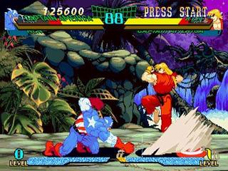 Xmen Vs Street Fighter Cps2 Pcb Original
