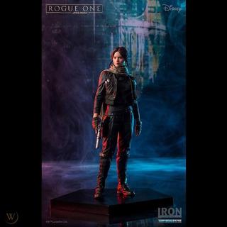 Iron Studios - Jyn Erso Star Wars - Rogue One Art Scale 1/10