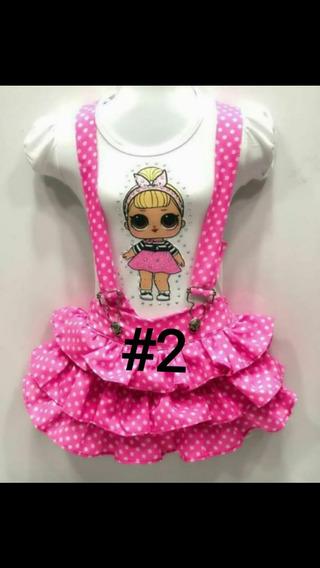 Vestido De Niña Lol