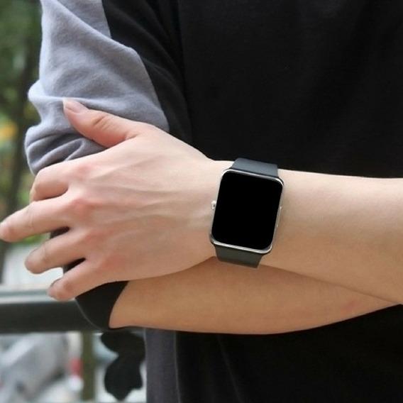 Relógio Digital Bluetooth Android Chip Faz Ligações Masculin