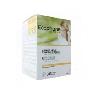 Ecophane Pó Fortificante 30 Saquetas, Fortificante Cabelos