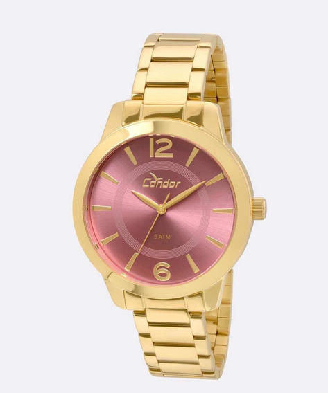 Relógio Condor Feminino Dourado Co2035kqe