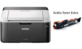 Impressora Brother Hl1212w Laser Mono C/ Toner Extra Grátis