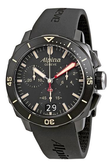 Relógio Suíço Alpina Seastrong Diver 300 Al-372lbbg4