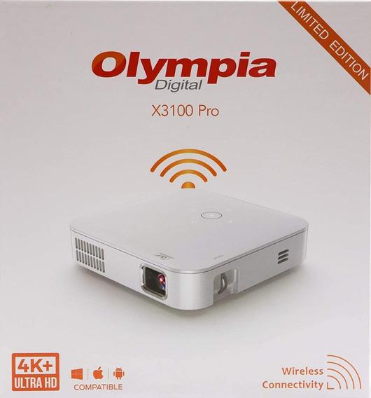 Projetor Portátil Olympia X3100 Pro 4k