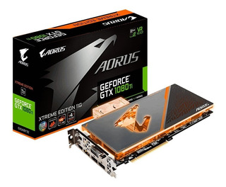 Gigabyte Aorus Geforce Gtx 1080 Ti Waterforce Wb Xtreme Edit