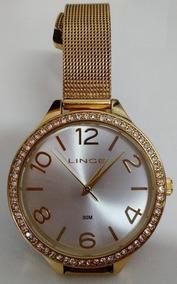 Relógio Lince Feminino Analógico Fashion De Vitrine Barato
