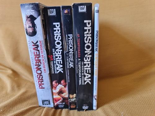 Box Completo Prision Break Temporadas 1 À 4 + Resgate Final