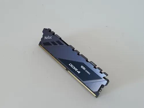 Imagem 1 de 3 de Memória Ram Ddr4 16 Gb Netac 3200 Mhz, Garantia Vitalícia