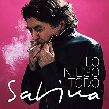 Vinilo Joaquin Sabina Lo Niego Todo Lp Nuevo Original
