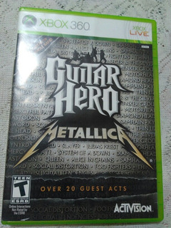 Guitar Hero Metallica En Exelente Estado