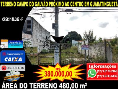 Terreno A Venda No Bairro Campo Do Galvão Em Guaratinguetá - Tr185-1