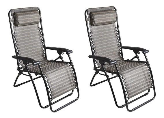 2 Unidades Cadeira Sevilha Reclinável 21 Posições - Mor