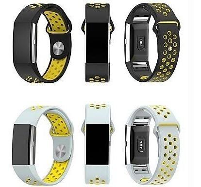 Relógio Fitbit Charge 2 + Tres Pulseiras