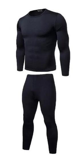 Kit 2 Conjunto Calça+blusa Térmica Flanelada Plus Size Frio