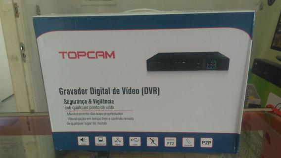 Dvr 4 Canais 1080p 5 Em 1 Topcam Sl-7004axn