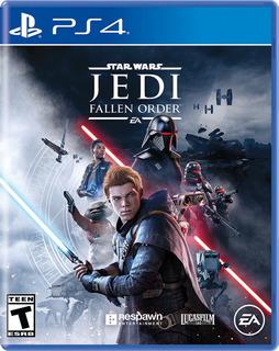 Star Wars Jedi : Fallen Order Ps4 Nuevo Sellado En Español