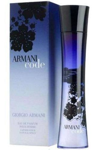 Armani Code Mujer 75 Ml - L a $1853