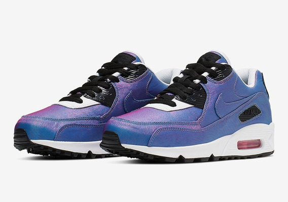 Zapatillas Nike Air Max 90 Se T. 36 Tornasoladas!!!