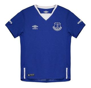 Camisa Umbro Everton Home 2016 Juvenil