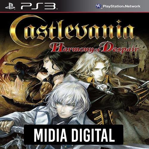 Castlevania Harmony Of Despair - Ps3 Psn*
