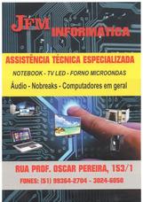 Jfm Informática , Tv De Led , Eletrônicos Em Geral .