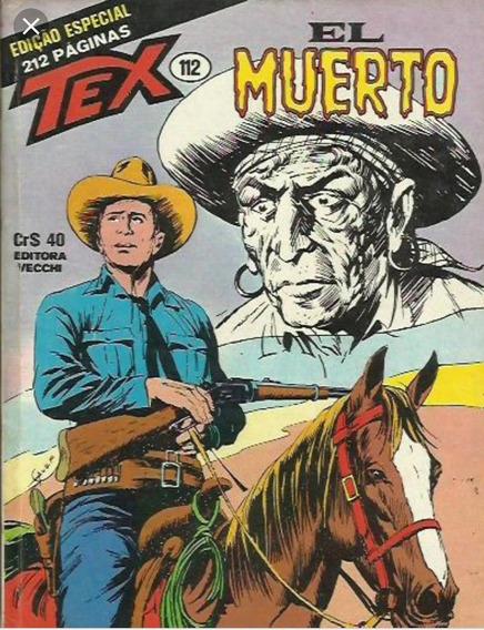 Gibi / Revista Tex Nº 112 - El Muerto