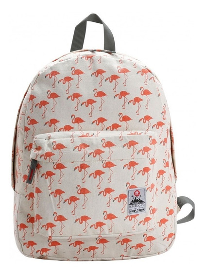Mochila Costas Flamingo Republic Vix