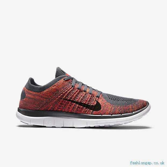 Vouge Nike Free 4.0 Total Orange Black Bright Crimson Dark