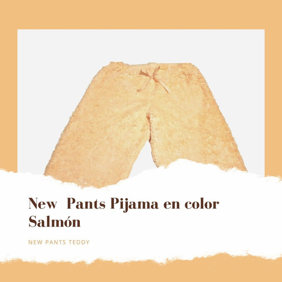 Pantalon Pijama Peluche Juvenil Corderito Doble