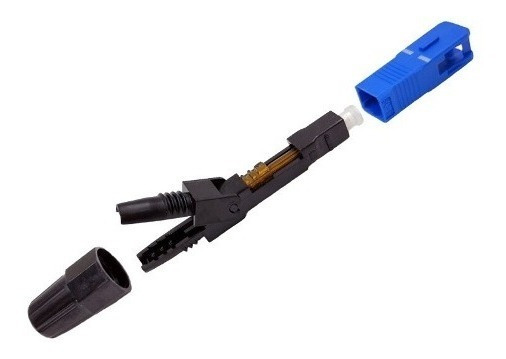 Conector De Fibra Óptica Sc/pc Rápida Ftth Fttb Fttx Network