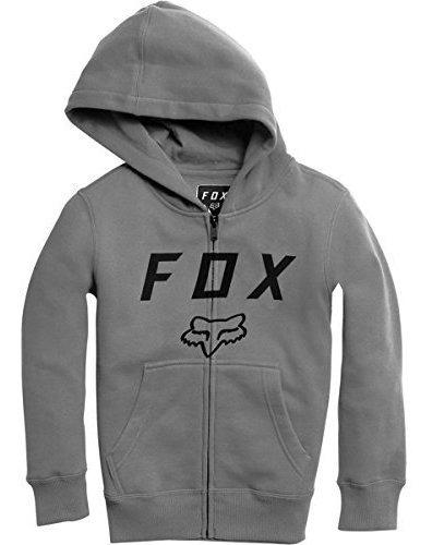Fox Racing Boys Legacy Moth Zip Fleece Hoody Sudaderas Con C