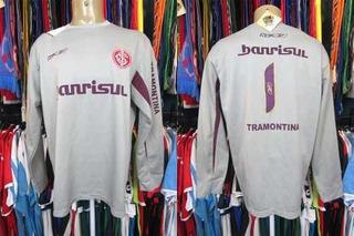 Internacional 2006 Camisa De Goleiro Tamanho Gg Número 1 (b)