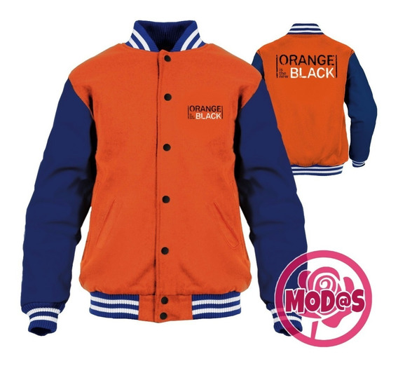 Jaqueta College Orange Is The New Black -blusa/moletom Seri