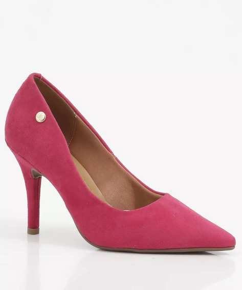 Scarpin Feminino Salto Fino Vizzano Pink