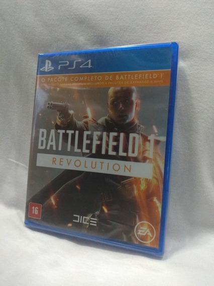 Battlefield 1 Revolution Ps4 Mídia Física Lacrado
