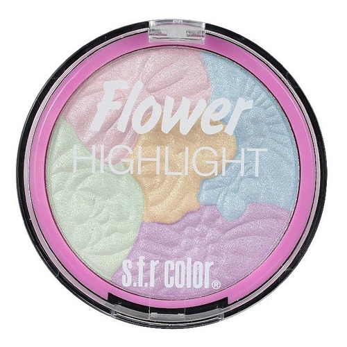 Iluminador S.f.r. Color Highlight Flower 5 Tonalidades