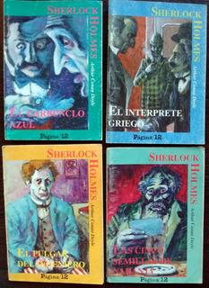 Lote 14 Libritos Cuentos De Sherlock Holmes - Muy Buenos!