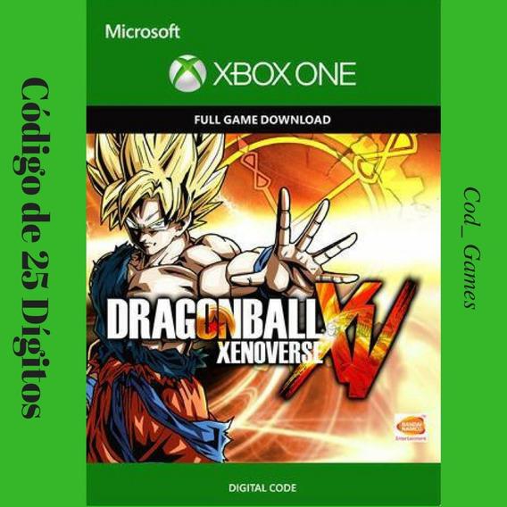 Dragon Ball Xv Xenoverse Xbox One 25 Dígitos Promoção