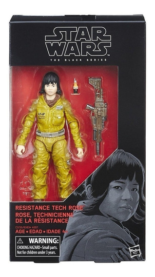 Star Wars The Black Series Resistance Tech Rose