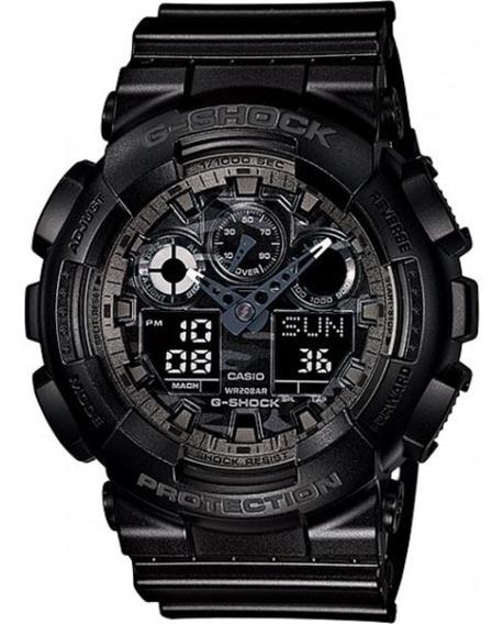 Relógio Casio G-shock Original Preto Com Most. Camo - Loja