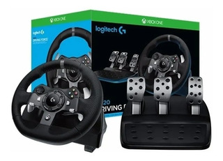 Volante Logitech G920 + Pedalera + Palanca Xbox One - Pc