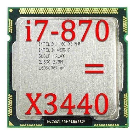 Processador X3440 2,93ghz 1156 + Pasta Térmica