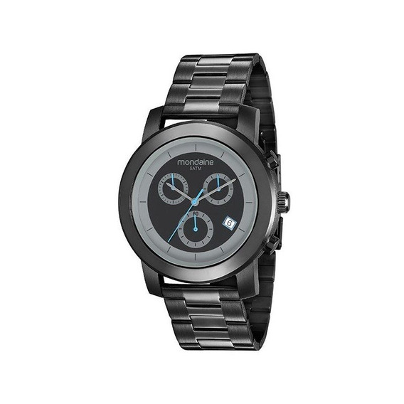 Relógio Mondaine Masculino Preto 99227gpmvpa2