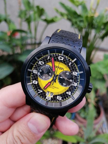 Reloj Ferrari Gran Turismo Fibra De Carbon Invicta Gc Bulova