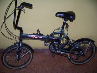 Bicicleta Plegable Rod 20 Con Suspension Impecable